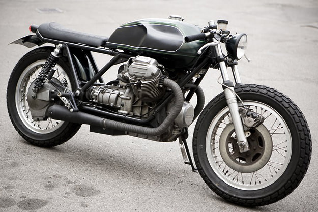 Moto Guzzi 850T cafe racer by Wrenchmonkees