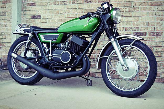 1972 custom Yamaha R5C 350