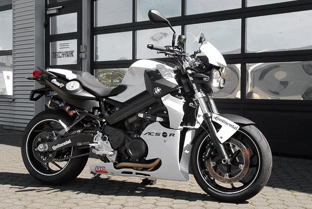 "AC Schnitzer's BMW F800 superbike, ""Reloaded"""