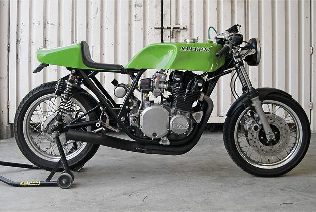 Kawasaki Z1 racing motorcycle