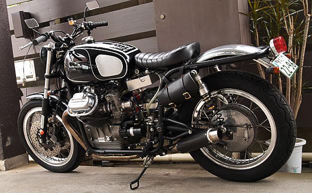 Ritmo Sereno's Moto Guzzi Ambassador racer