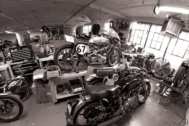 Motorcycle Dream Garages book by Lee Klancher