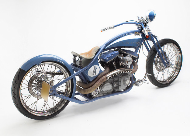 7 Ages Hamlet Tracker custom motorcycle