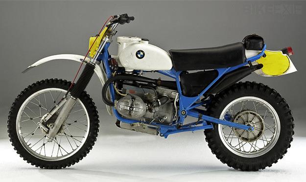 BMW R80 enduro racing motorcycle