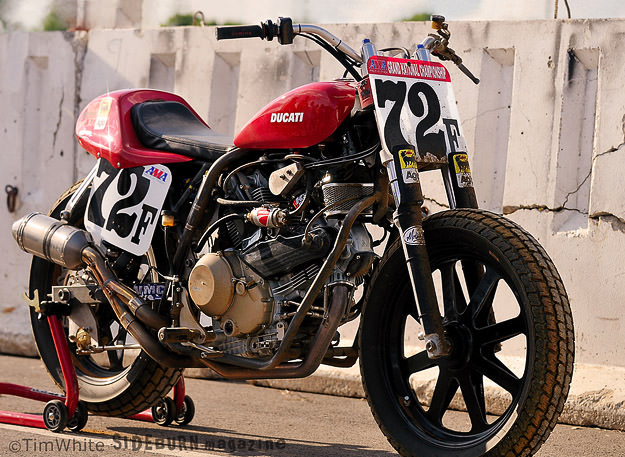 Ducati GT1000-based flat track motorcycle