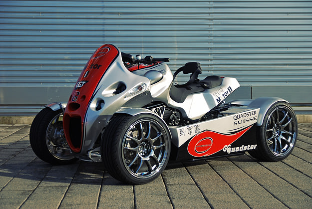 GG Quadster BMW-based four-wheeled motorcycle