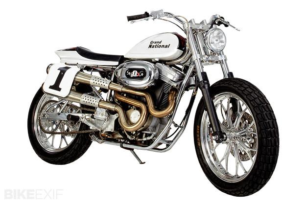 Harley-Davidson Grand National flat tracker by SHR