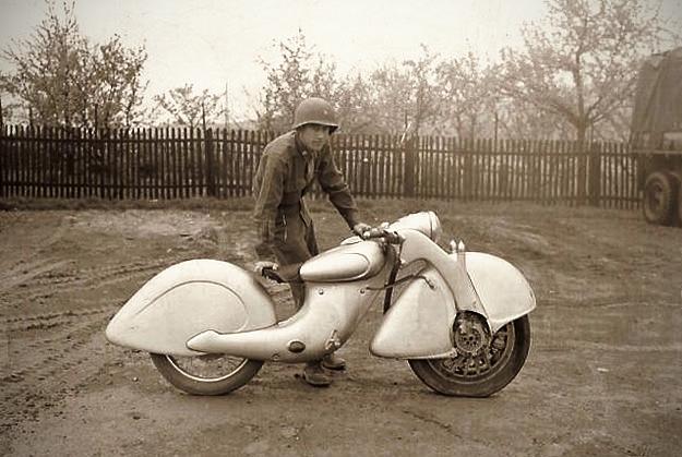 The strange pre-WWII Killinger und Freund motorcycle