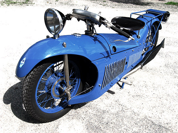 1929 Majestic motorcycle with Chaise engine