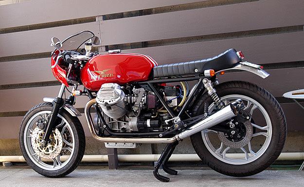 Moto Guzzi 850 Le Mans customized by Ritmo Sereno