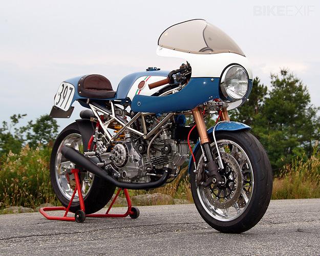 Ducati racer by Walt Siegl