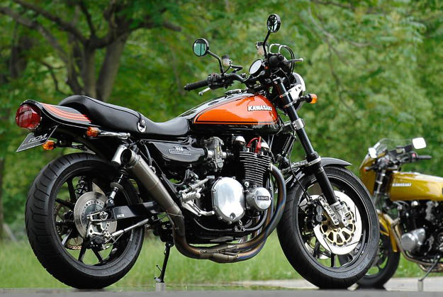 Kawasaki Z custom motorcycles by Sanctuary of Japan