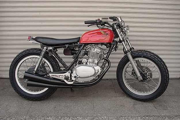 Honda CB250RS street tracker by Move On Garage