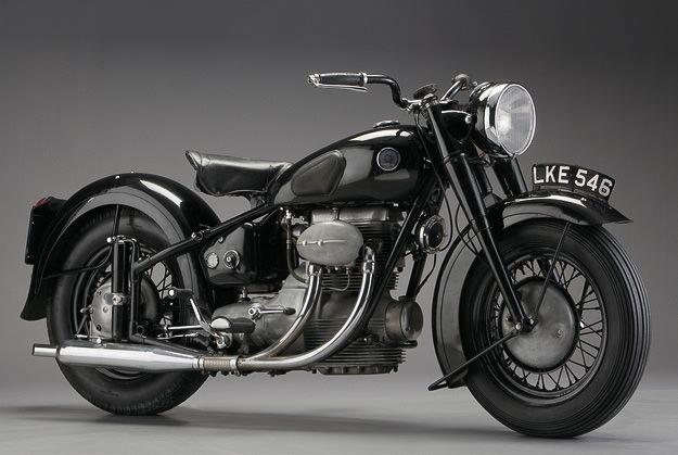 Sunbeam S7 motorcycle