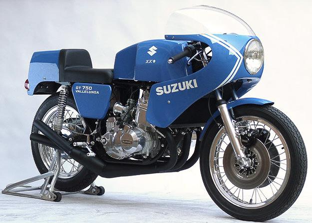Suzuki GT750S Vallelunga limited edition Italian racebike