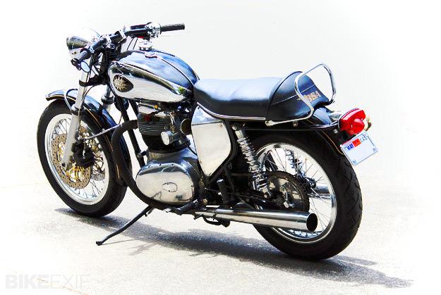 1966 BSA A65 Lightning custom motorcycle