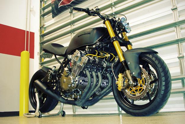 1979 Honda CBX custom motorcycle