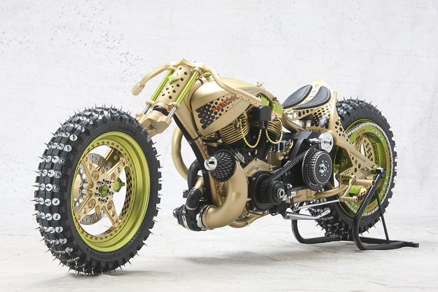 Seppster 2: A Harley built for motorcycle ice racing