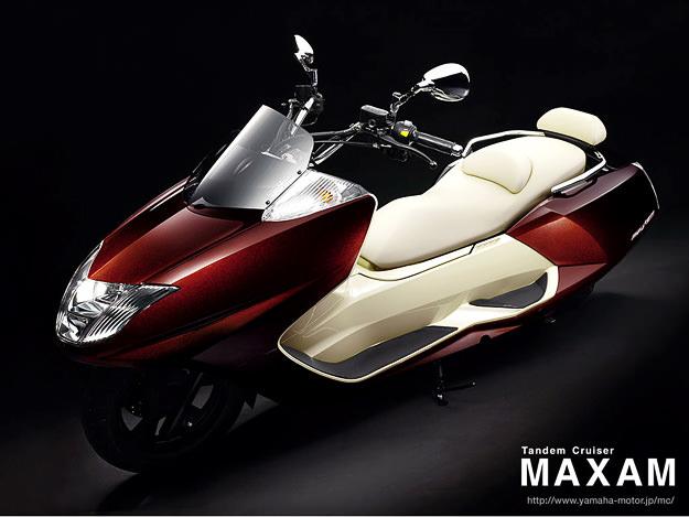 Yamaha Maxam CP250 maxi-scooter