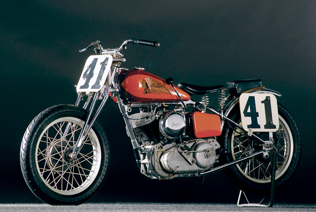 1948 Indian 648 'Big Base' Scout, also known as the 'Daytona Scout'