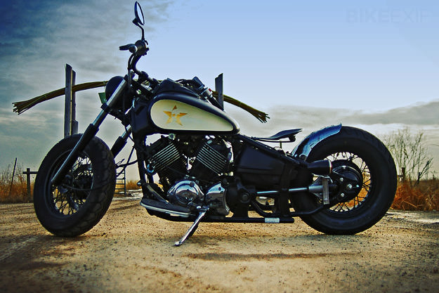 2001 Yamaha V Star 650 Classic custom motorcycle