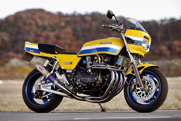 Kawasaki Z1000J by Bull Dock