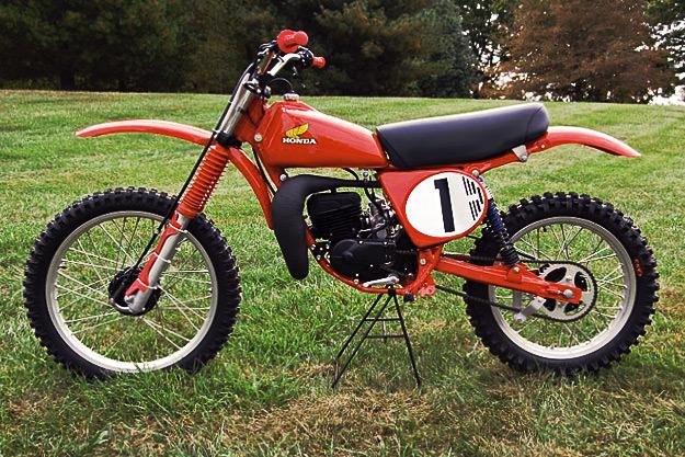 Honda RC125 replica