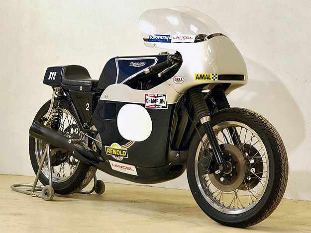 1974 Triumph Trident race bike with Rob North frame