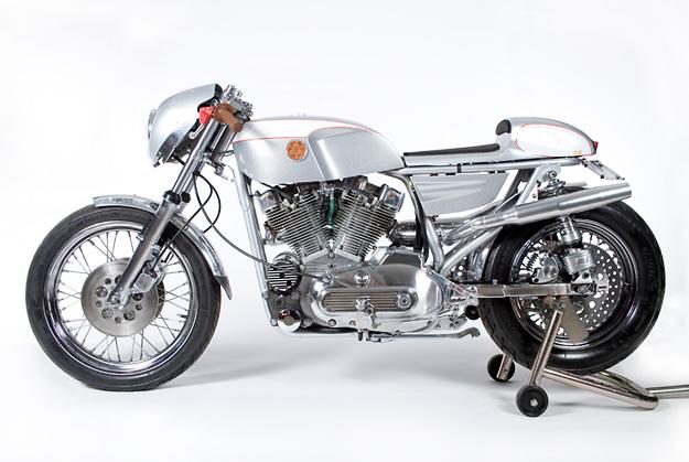 Custom Harley Sportster by Walt Siegl Motorcycles
