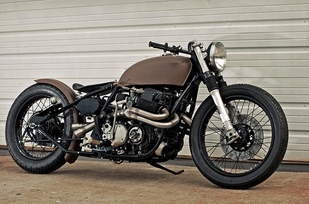 1975 Honda CB750 customized by Garage Company Customs