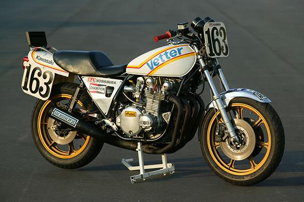 Reg Pridmore's Vetter Kawasaki KZ1000