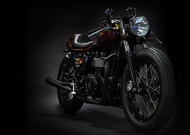 Triumph Bonneville custom by Deus