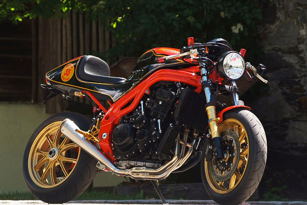Triumph Speed Triple custom