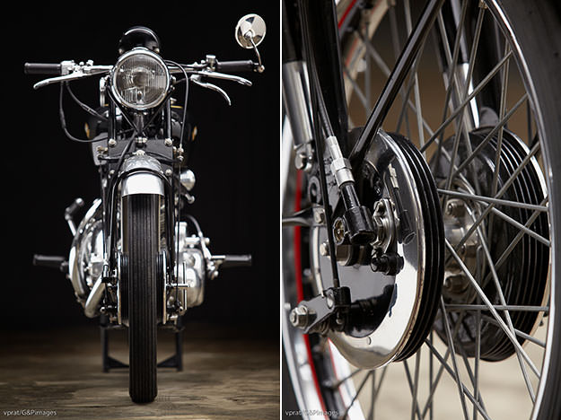 Ten Years After: A restored 1951 Vincent Rapide