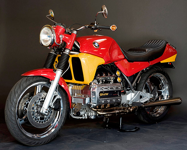 The Beast: Larry Romestant's custom BMW K100