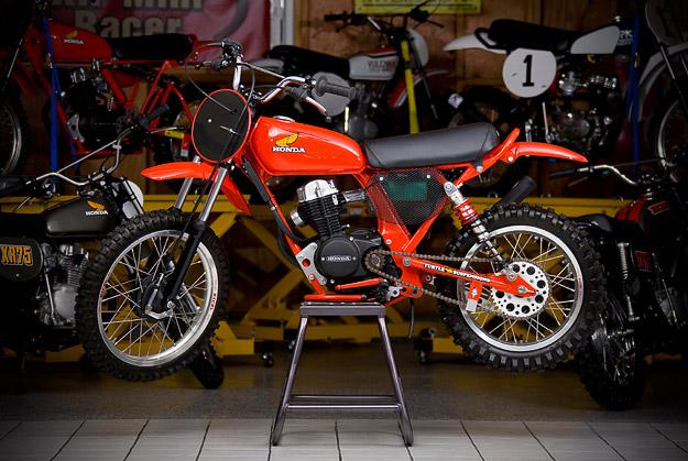 Honda XR75 vintage minibike