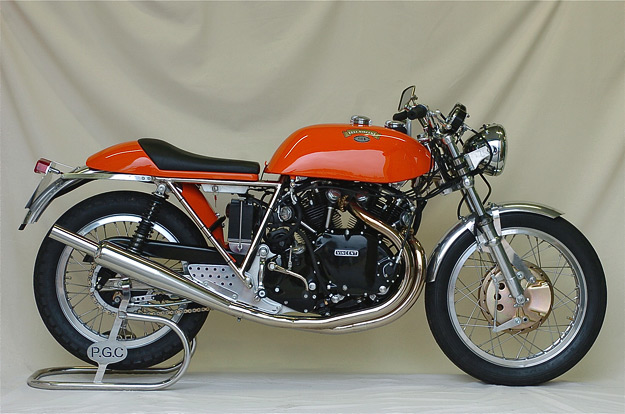 Egli-Vincent motorcycle by Patrick Godet