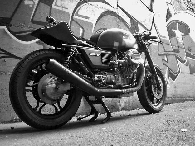 Moto Guzzi 1000 SP cafe racer