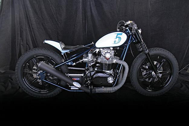 Yamaha XS650 custom by LC Fabrications