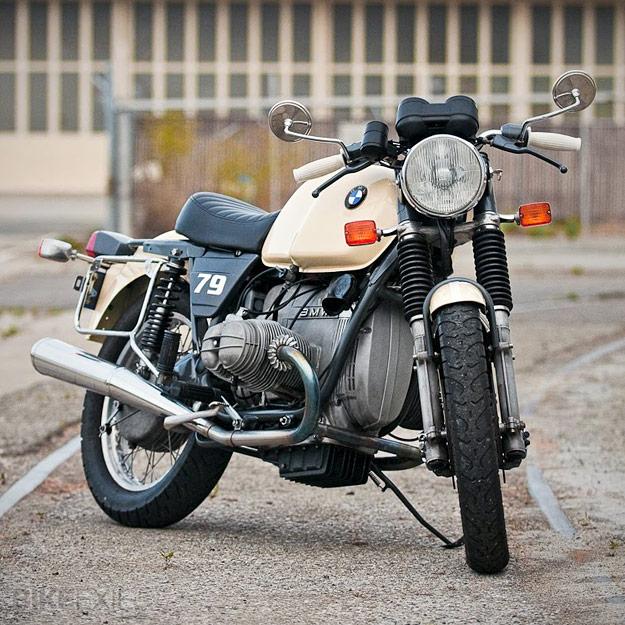 BMW R100T custom