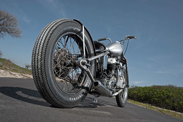 Harley-Davidson WL flathead by Dark Star Kustoms