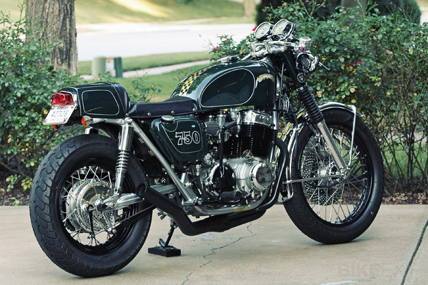 Honda CB750 custom by Steve 'Carpy' Carpenter