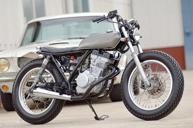 Honda GB250 custom motorcycle by Gravel Crew