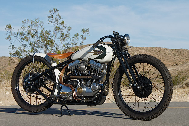 Cro Customs BS1: A tracker-style Harley-Davidson Sportster custom