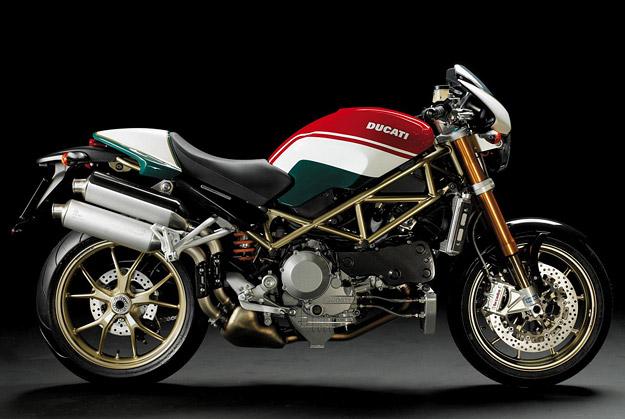 Ducati Monster S4RS Tricolore