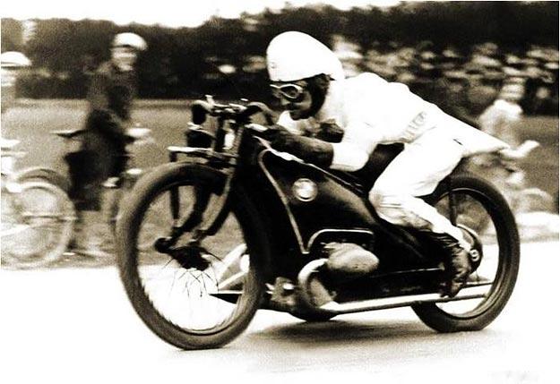 Ernst Henne, BMW rider