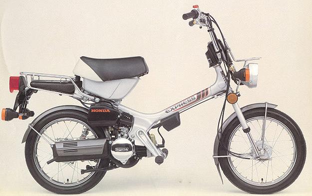 Honda Express motorcycle