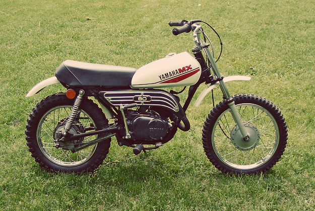 Yamaha MX80 owned by Justin Kell of Glory Los Angeles