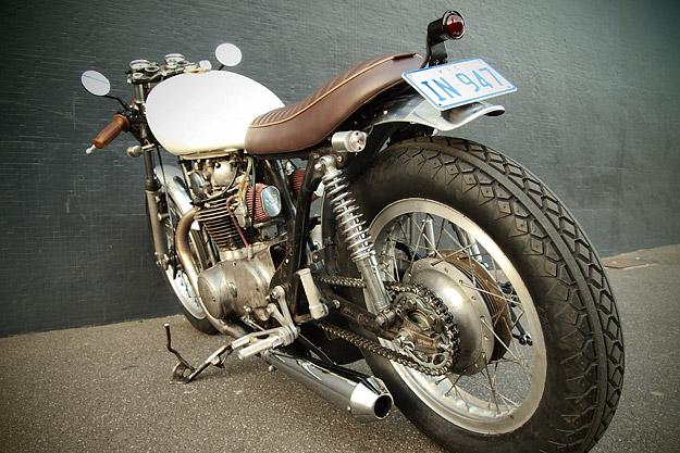 Yamaha TX650 custom by the Modern Motor Cycle Company
