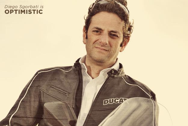Ducati's Diego Sgorbati